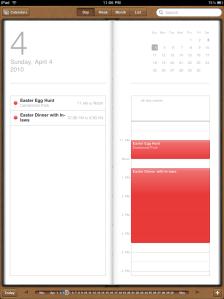 iCal iPad App